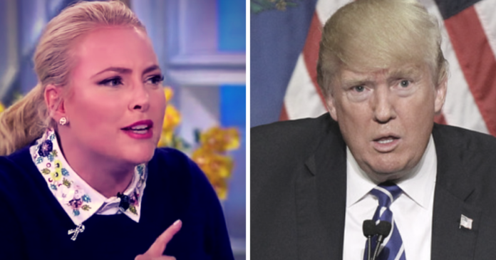 Meghan McCain Demands Trump Be Investigated….